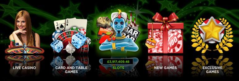 ulike casinospill